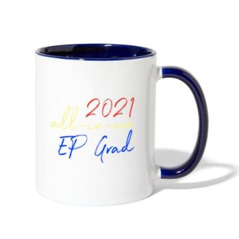 2021 All-in-One EP Grad - Contrast Coffee Mug