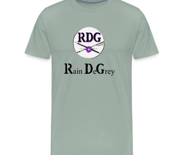 Rdg Logo Black Lettering Mens Premium T Shirt