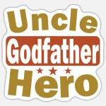 Patenonkel Pate Onkel Taufe Geschenk Sticker Spreadshirt