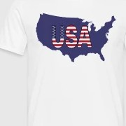 HD Decor Images » USA  United States of America blue map shape by mktsdesign   Spreadshirt Men s T Shirt