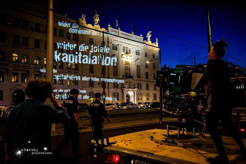 starsky : projektions guerilla tour wien 2018