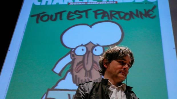 Laurent Sourisseau ist der Charlie-Hebdo Herausgeber