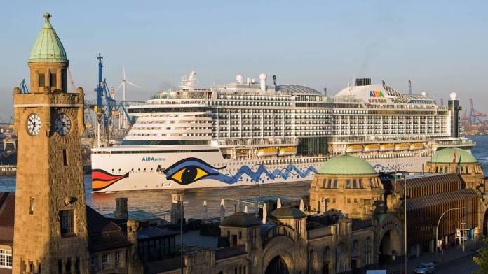 Cruise ship reaches christening port: