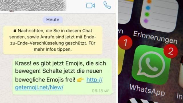 Whatsapp-Kettenbrief