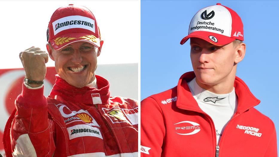 Mick Schumacher Michael Schumacher