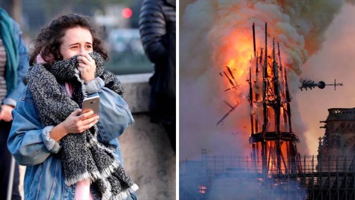 Notre-Dame brennt und Paris singt und betet