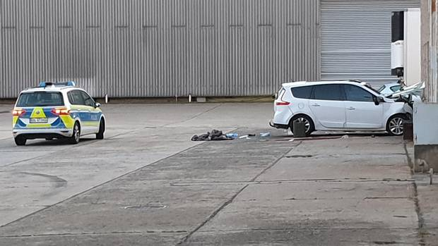 News from Germany: Accident car in Werder