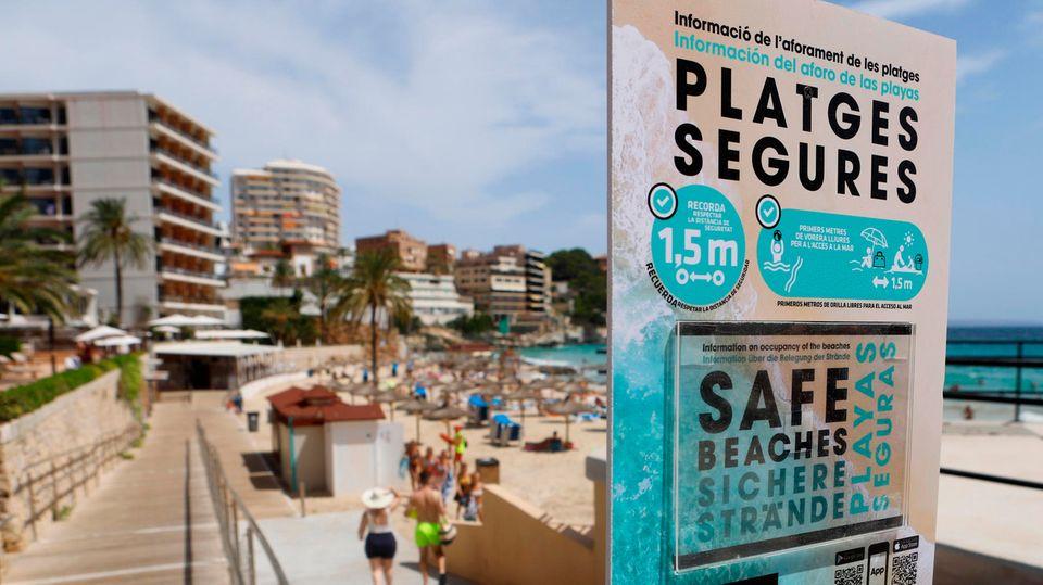 coronavirus auf mallorca wie gehen touristen und barbesitzer mit den strengen regeln um
