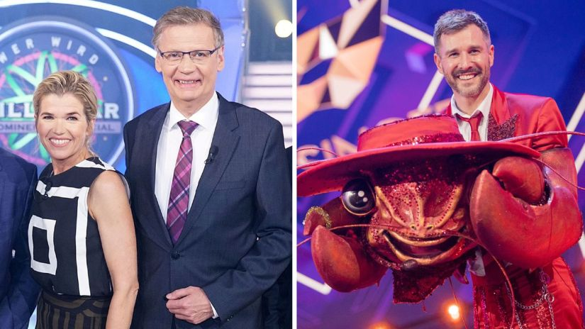 """Who Wants To Be A Millionaire?"" versus ""The Masked Singer"""