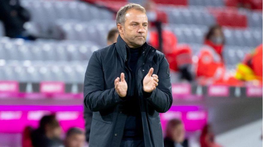 Hansi Flick, coach of the Bundesliga club FC Bayern Munich
