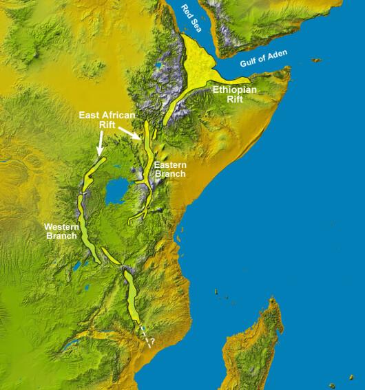 Riftul african