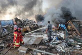 Bilanțul exploziei din Beirut a ajuns la 100 de morți și 4.000 de răniți. Ce ar fi provocat deflagrația