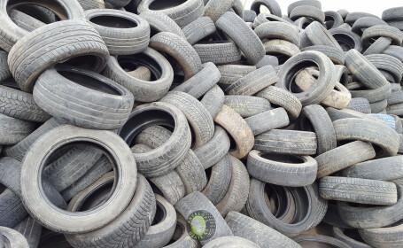 România a ajuns groapa de gunoi a Europei și pentru anvelopele uzate