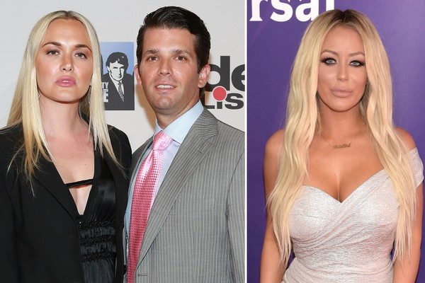 Donald Trump Jr  had affair with  Apprentice  contestant Aubrey O     At left  Vanessa Trump and Donald Trump Jr  are pictured at the  All