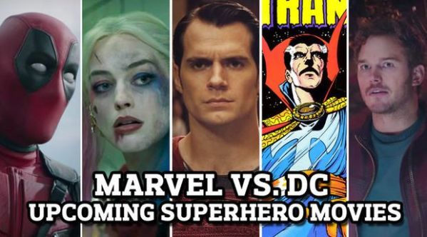 Marvel vs. DC: 25 upcoming superhero movies, release dates ...