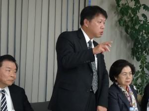 第4屆選務委員會主任委員吳啟源說明選前流程