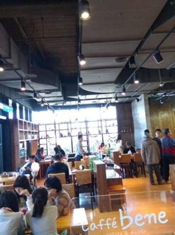 112 左營-Caffe Bene韓風咖啡館咖啡陪你 不過就只是咖啡館