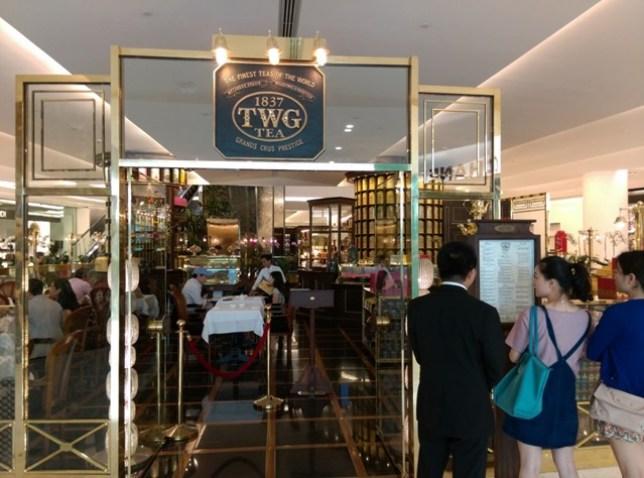 TWG02 Bangkok-TWG下午茶 體驗一下貴婦下午茶的魅力