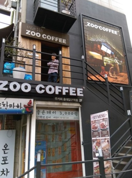 ZOO01 Seoul-Zoo Coffee動物主題咖啡館(弘大店)