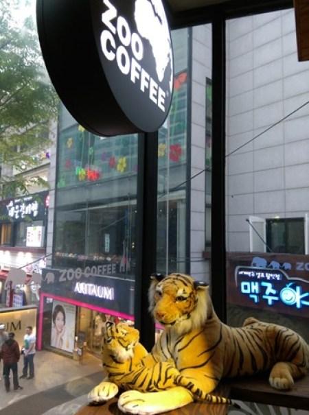 ZOO12 Seoul-Zoo Coffee動物主題咖啡館(弘大店)