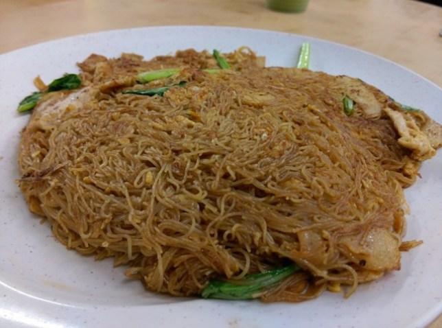 4 Johor Bahru-阿明家鄉小炒 三樓干米粉 果真是必吃