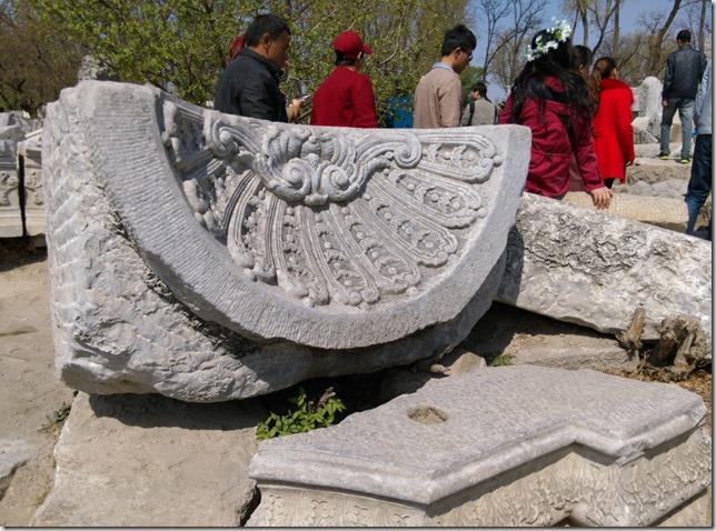 40_thumb1 Beijing-圓明園 英法聯軍毀的差不多了 但還是被列入世界文化遺產