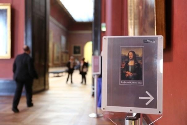 11111013 Paris-巴黎羅浮宮Musee du Louvre 藝術殿堂眼花撩亂看不完 一馬當先看蒙娜麗莎