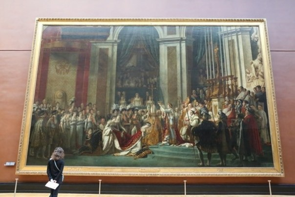 11111026 Paris-巴黎羅浮宮Musee du Louvre 藝術殿堂眼花撩亂看不完 一馬當先看蒙娜麗莎