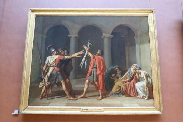 11111027 Paris-巴黎羅浮宮Musee du Louvre 藝術殿堂眼花撩亂看不完 一馬當先看蒙娜麗莎