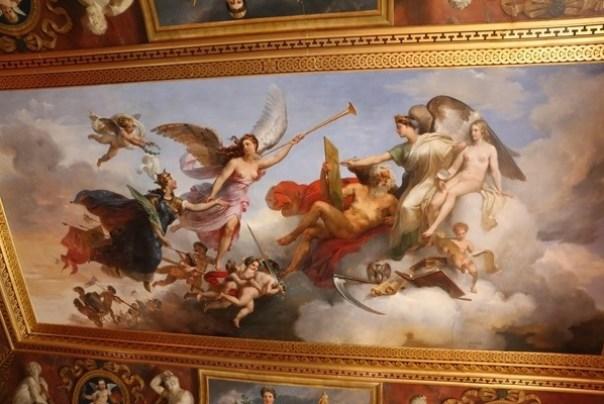 11111047 Paris-巴黎羅浮宮Musee du Louvre 藝術殿堂眼花撩亂看不完 一馬當先看蒙娜麗莎