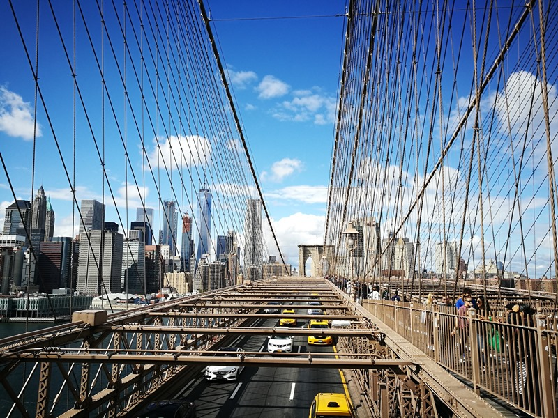 brooklynbridge11 New York-果真大蘋果之紐約真好玩 散步Brooklyn Bridge品味紐約天際線