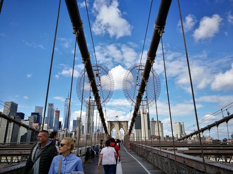 brooklynbridge15 New York-果真大蘋果之紐約真好玩 散步Brooklyn Bridge品味紐約天際線