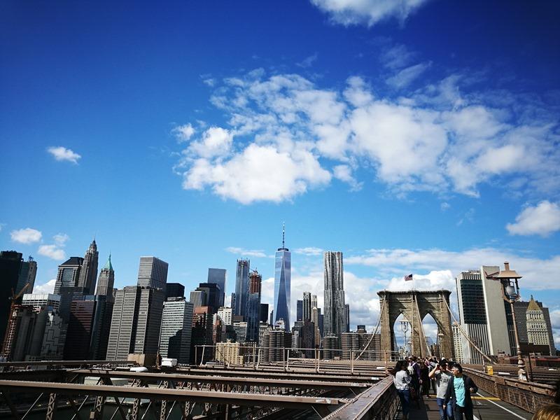 brooklynbridge16 New York-果真大蘋果之紐約真好玩 散步Brooklyn Bridge品味紐約天際線