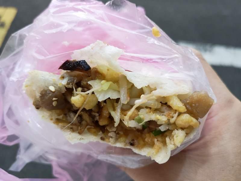 kuocake8 新竹-城隍廟夜市 必吃郭家潤餅