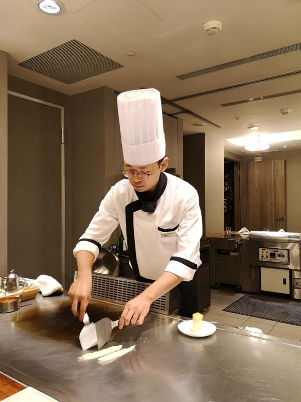 teppenyaki06 竹北-喜來登內的邀月亭鐵板燒 輕鬆舒適又好吃