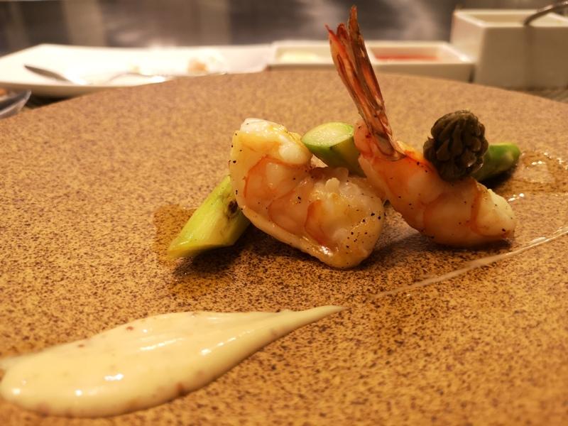 teppenyaki13 竹北-喜來登內的邀月亭鐵板燒 輕鬆舒適又好吃