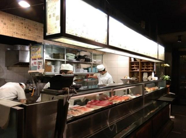 IMAG5948 新竹-十六區 簡單好味道 來吃壽司囉