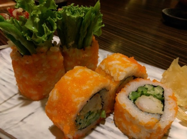 IMAG5953 新竹-十六區 簡單好味道 來吃壽司囉