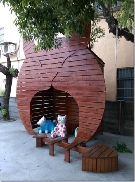 10_thumb1 虎尾-頂溪 屋頂上的貓 可愛的彩繪社區