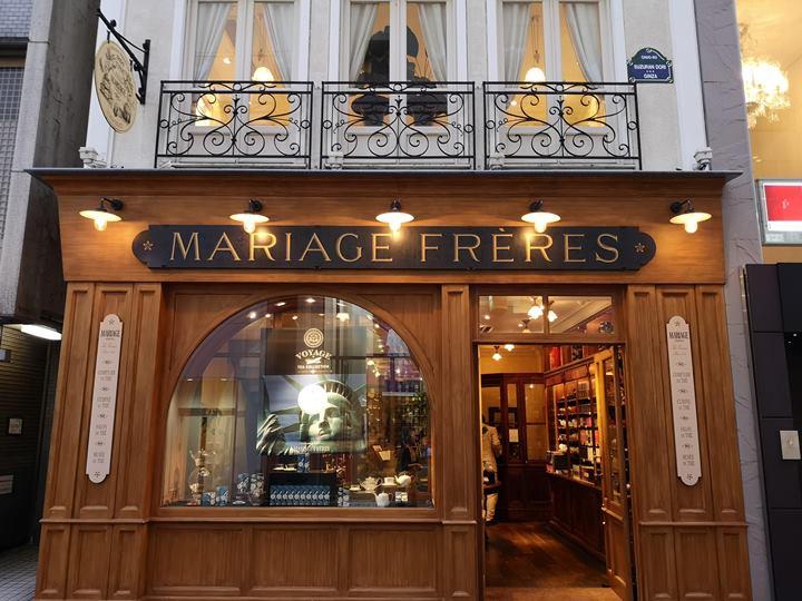 Freress1811101 Ginza-Mariage Freres銀座巷子內的瑪黑兄弟茶 茶香餐點優
