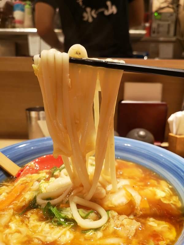 suizan6 Shinagawa-品川站內 手延べうどん 水山 好吃的烏龍麵