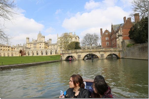 ponting13_thumb Cambridge-再見康橋 許多年後的劍橋 依舊美麗 搭船遊康河