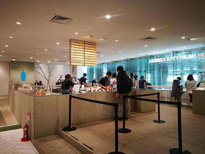 bluebottlesss Shinagawa-品川車站直結 紐約早餐女王Sarabeth's 草莓鬆餅好口味