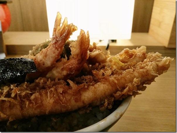 image019 中正-排隊名店 台北車站微風金子半之助 天丼真好吃啊值得一排喔!!