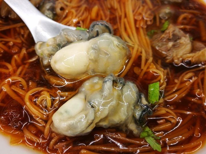 sanfu0110 竹北-三福麵線 可以正餐也可以宵夜的大腸蚵仔牛肉麵線
