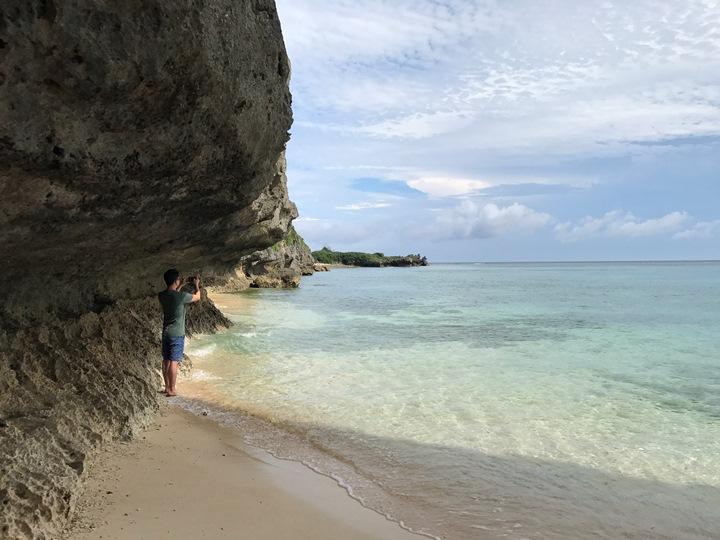 wurumi2 Okinawa-備瀬のワルミ備瀨一線天 通往聖地的入口