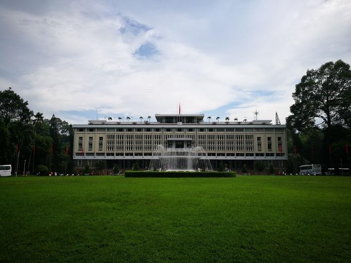 independancepalace070105 HoChiMinh-獨立宮 歷史意義大過建築之美的胡志明必訪景點