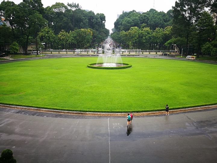 independancepalace070117 HoChiMinh-獨立宮 歷史意義大過建築之美的胡志明必訪景點