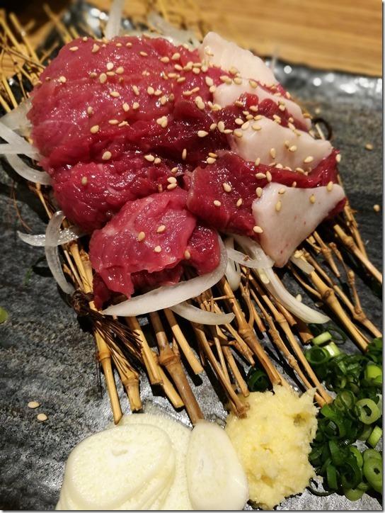 samurai08 Hamamatsucho-九州の地魚料理 侍(さむらい) 濱松町大門分店 生馬肉彈性十足