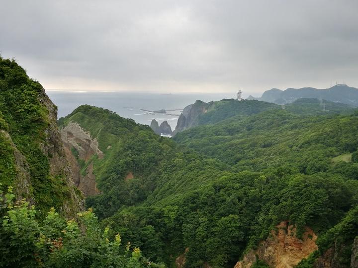 earthcape12 Muroran-北海道室蘭美景 地球岬/金屏風/白鳥大橋
